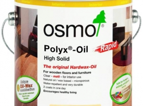 Aliejus Osmo Hardwax Rapid