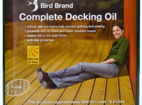 Aliejus terasoms Bird Brand Decking Oil