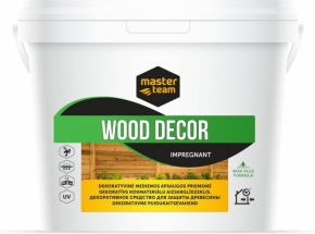 "Impregnantas medžiui MASTER TEAM ""WOOD DECOR"""